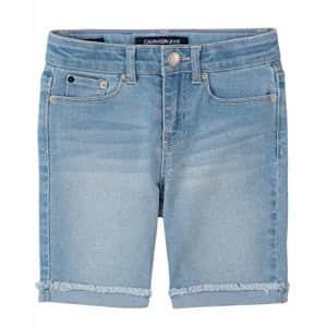 Calvin Klein Big Girls' Bermuda Short, S20 Cut Off Mist, 8 for $32