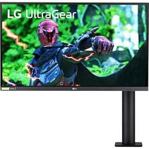 LG 27GN880-B 27 Inch Ultragear Gaming Monitor QHD (2560 x 1440) Nano IPS 16:9 Display with Ergo for $369