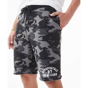 Aeropostale Men's 87 Fleece Shorts for $8
