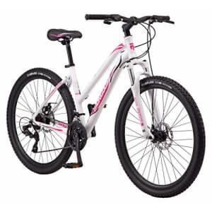 Mongoose Switchback Trail Adult Mountain Bike, 21 Speeds, 27.5-Inch Wheels, Womens Aluminum Medium for $549