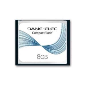 Dane Elec Canon EOS 20D Digital Camera Memory Card 8GB CompactFlash Memory Card for $24