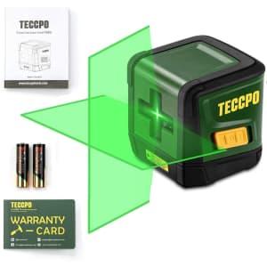 Teccpo 50-Foot Laser Level for $23