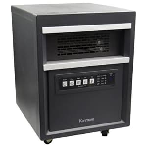 Kenmore Infrared Room Heater, Black for $100