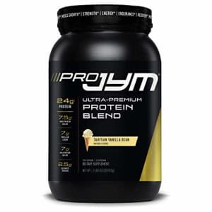 Pro Jym Protein Powder - Egg White, Milk, Whey protein isolates & Micellar Casein | JYM Supplement for $50