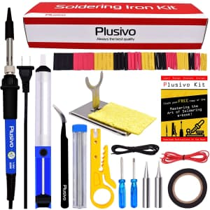 Plusivo Soldering Iron Kit for $11