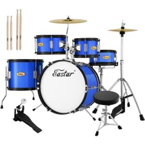 """Eastar Kids' 16"""" Drum Set for $154"""