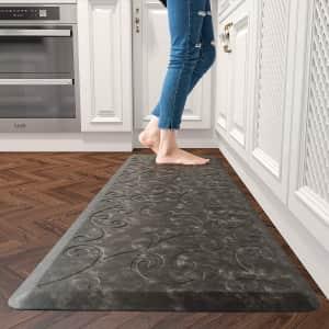 MontVoo Anti-Fatigue Floral Floor Mat from $18