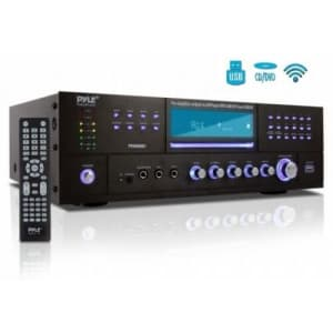 Pyle 4-Channel Bluetooth Home Theater Preamplifier & Stereo Receiver System for $160