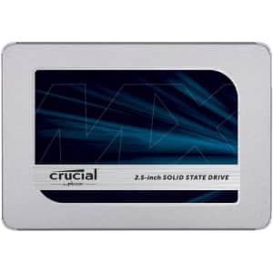 "Crucial MX500 250GB 3D NAND SATA 2.5"" Internal SSD for $58"
