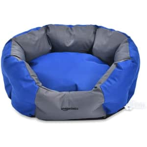 """AmazonBasics 22.8"""" Water-Resistant Pet Bed for $35"""