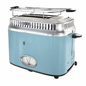 Russell Hobbs TR9150BLR Retro Style 2-Slice Toaster, Heavenly Blue for $50