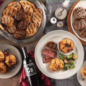 Wine & Steak Bundles at Omaha Steaks: Up to 50% off