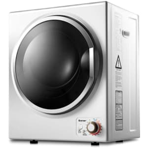 Costway Compact Laundry Electric Dryer for $300