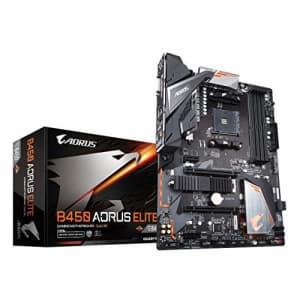 GIGABYTE B450 AORUS ELITE (AMD Ryzen AM4/ATX/M.2 Thermal Guard/Hmdi/DVI/USB 3.1/DDR4/Motherboard) for $126