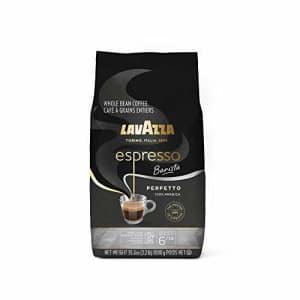 Lavazza Espresso Barista Perfetto Whole Bean Coffee 100% Arabica, Medium Espresso Roast, 2.2-Pound for $25