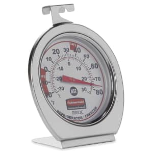 Rubbermaid Refrigerator/Freezer Thermometer for $9