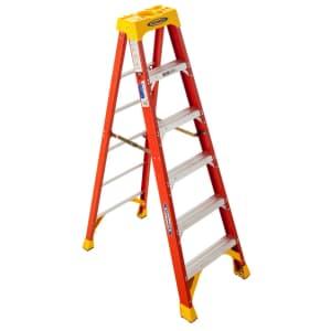 Werner 6-Foot Fiberglass Step Ladder for $80 for Ace Reward members