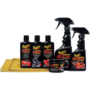 Meguiar's Motorcycle Care Kit for $34