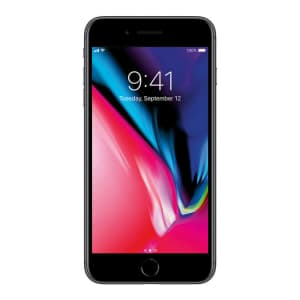 Unlocked Apple iPhone 8 Plus 64GB GSM Smartphone for $250