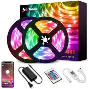 Solmore 32.8-Ft. LED Strip Light for $37