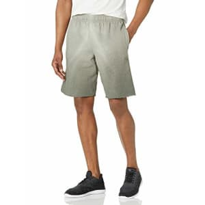 Champion Men's Powerblend Shorts, Ombre Army, Small for $27