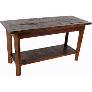 """Alaterre Furniture Revive 36"""" Solid Reclaimed Hardwood Storage Bench for $171"""
