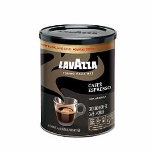 Lavazza Caffe Espresso - Ground Coffee, 8-Ounce for $6