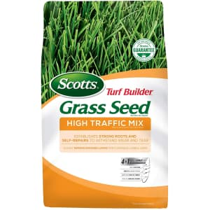 Scotts 3-Lb. Turf Builder Grass Seed for $10