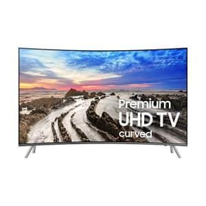 Samsung Electronics UN65MU8500 Curved 65-Inch 4K Ultra HD Smart LED TV (2017 Model) for $1,445