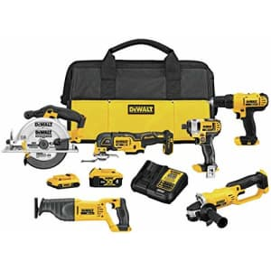 DEWALT 20V MAX Cordless Drill 6-Tool Combo Kit for $855