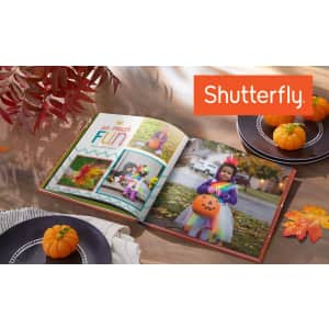 Shutterfly Hard Cover Photo Books at Groupon: Up to 83% off