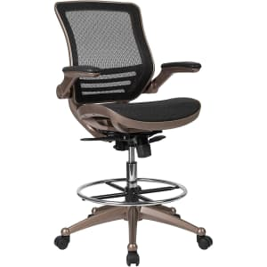 Flash Furniture Mid-Back Mesh Drafting Chair for $261