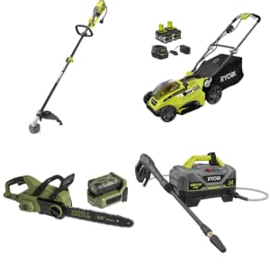 Outdoor Power Tools at Home Depot: Up to $50 off