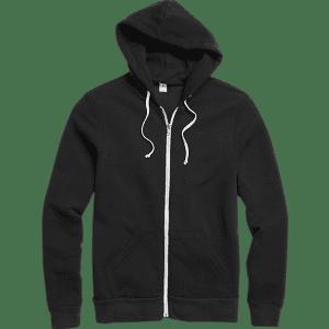Alternative Apparel Men's Rocky Eco-Fleece Hoodie for $20