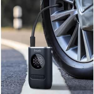 Enusic 150-PSI Cordless Digital Air Pump for $33