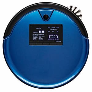 bObsweep PetHair Plus Robotic Vacuum Cleaner and Mop, Cobalt for $275