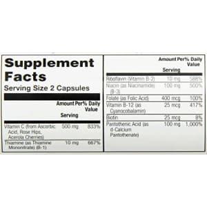 Solaray B Stress P.M., Capsule (Btl-Plastic) | 60ct for $12