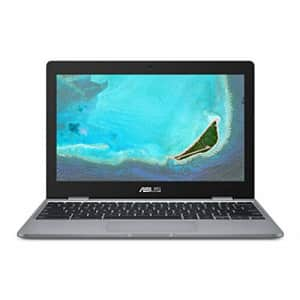 """ASUS Chromebook C223NA-DH02 11.6"""" HD, Intel Dual-Core Celeron N3350 Processor (Up to 2.4GHz) 4GB for $189"""