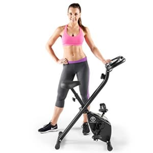 Marcy Folding Upright Exercise Bike with Magnetic Resistance NS-654 for $120