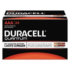 Duracell DURQU2400BKD - Quantum Alkaline Batteries for $22