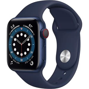 Apple Watch Series 6 40mm GPS + Cellular Smartwatch for $399