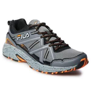 Fila Men's Ascente TR Trail Running Shoes for $30