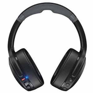 Skullcandy Crusher Evo Wireless Over-Ear Headphone - True Black (Renewed) for $100