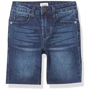 HUDSON Boys' Big Denim Jean Shorts, Hess Riot, 12 for $40