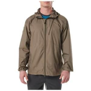 5.11 Tactical Men's Cascadia Windbreaker Packable Jacket for $29