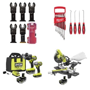 Tools at Home Depot: Up to $150 off