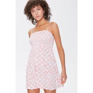 Forever 21 Women's Checkered Mini Dress for $6