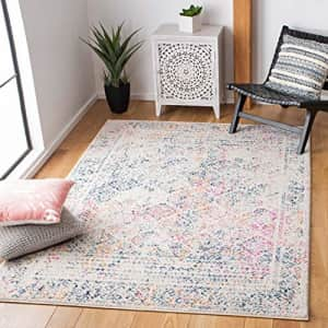Safavieh Tulum Collection TUL264D Moroccan Boho Distressed Non-Shedding Living Room Bedroom Area for $41