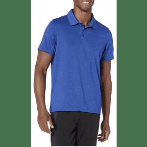 Peak Velocity Men's Tech Polo Shirt for $12