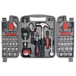 Apollo Tools DT9411 79 Piece Multi-Purpose Tool Set with Sockets and Most Reached for Hand Tools in for $36